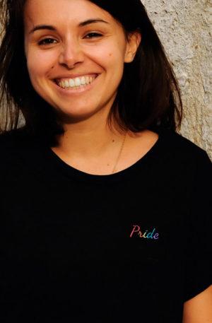 tee shirt lesbienne noir pride