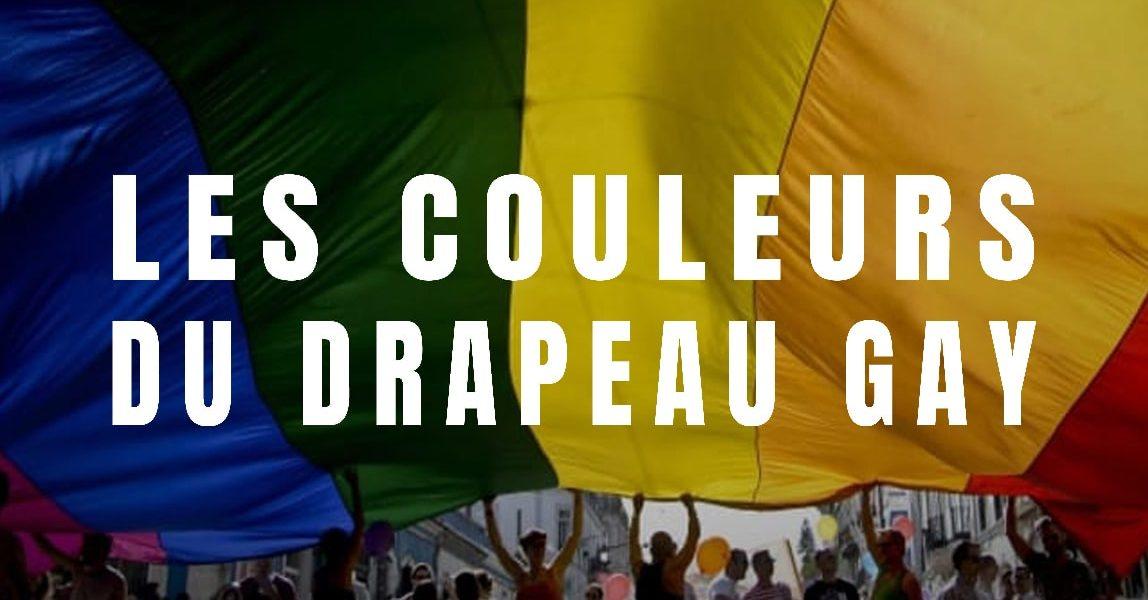 couleurs drapeau gay pride lgbt
