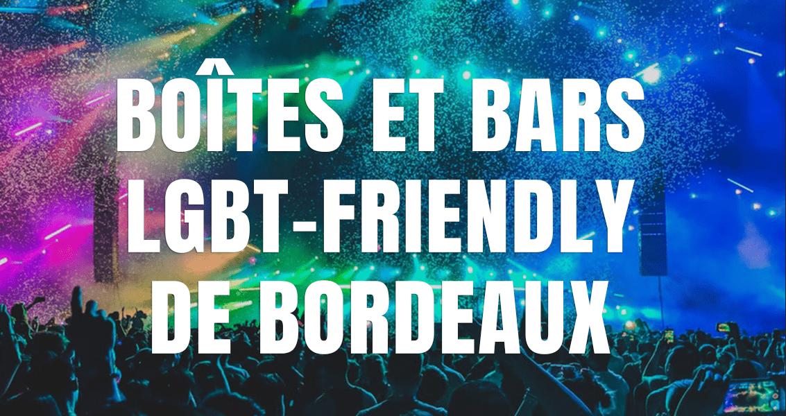 boites gay bordeaux