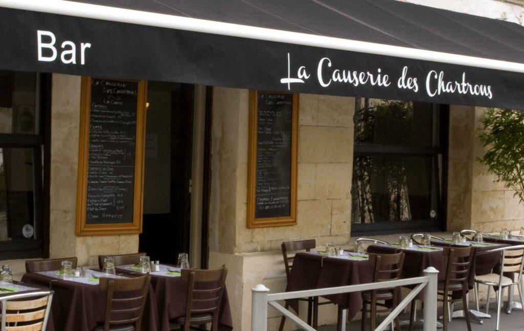 restaurant la causerie des chartrons