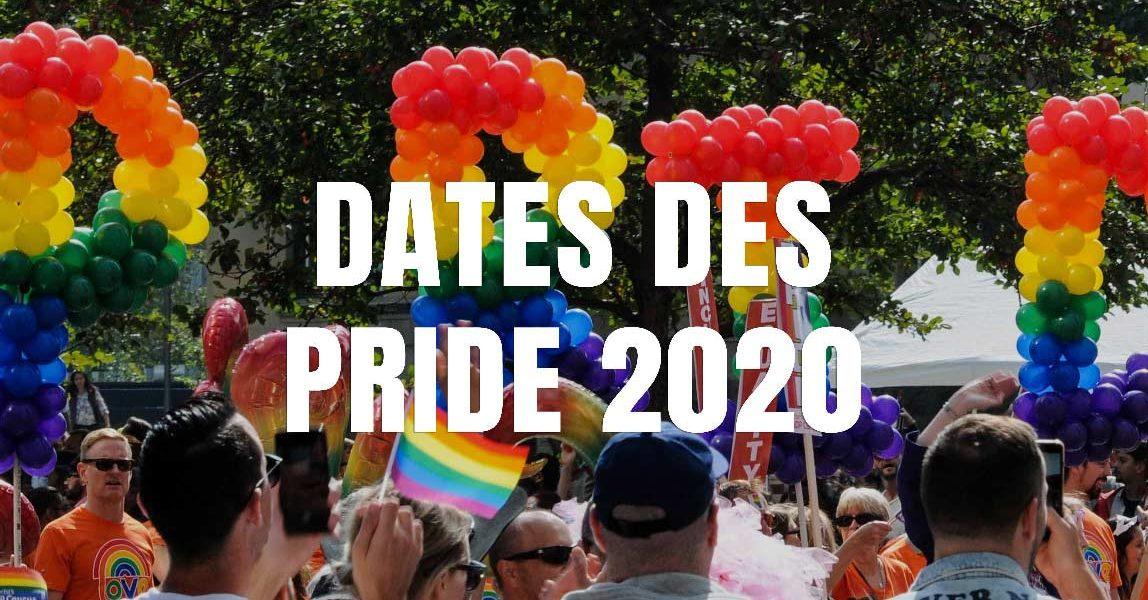 date gay pride 2020