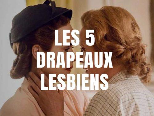 Les 5 drapeaux lesbiens