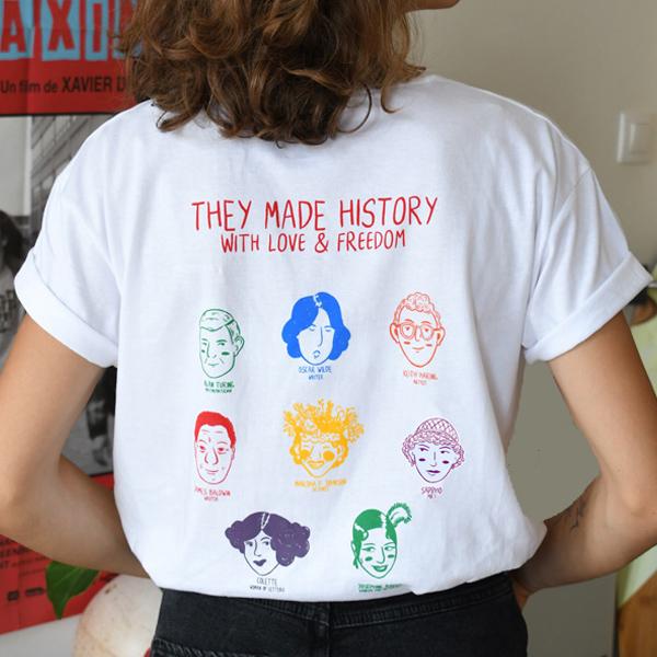 tshirt lgbt icones queer